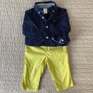Stylish Little Man outfit - 6mo